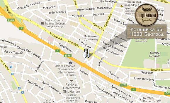 ustanicka ulica beograd mapa Контакт | Стара Кафана ustanicka ulica beograd mapa